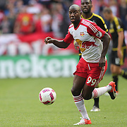 HARRISON, NEW JERSEY- OCTOBER 16:  Bradley Wright-Phillips #99 of New York Red Bulls on action during the New York Red Bulls Vs Columbus Crew SC MLS regular season match at Red Bull Arena, on October 16, 2016 in Harrison, New Jersey. (Photo by Tim Clayton/Corbis via Getty Images)