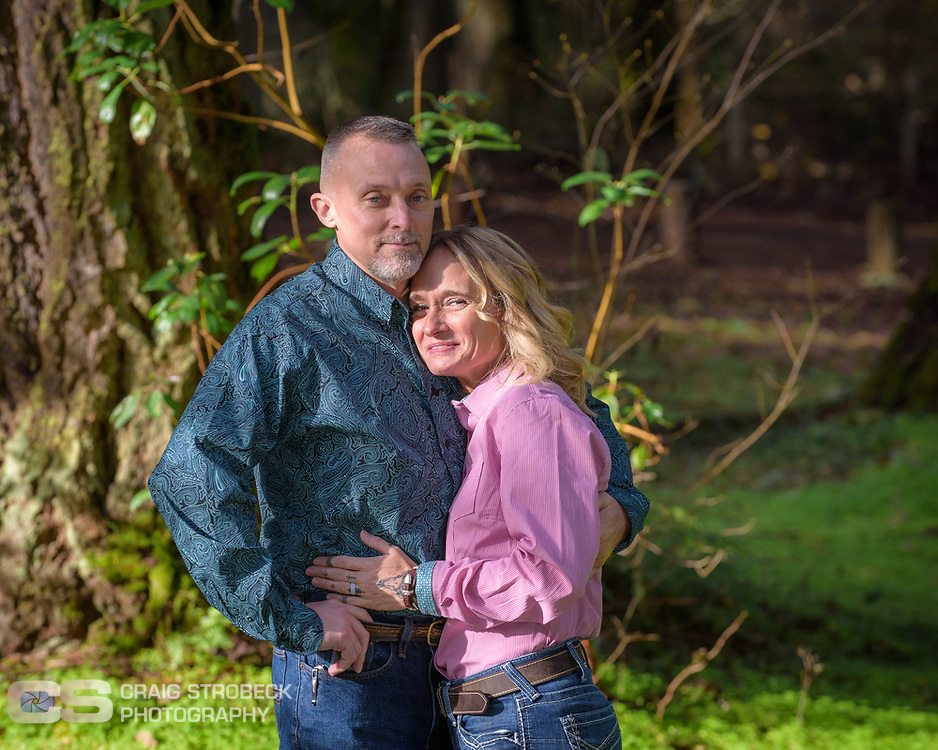 Brian and Paula photographed at Bellfountain Park Bellfountain, Oregon.