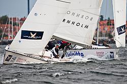 Bruni vs Mirsky. Danish Open 2010, Bornholm, Denmark. World Match Racing Tour. photo: Loris von Siebenthal - myimage