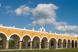 Mexico, Yucatan, Izamal, Convento de San Antonio de Padua, built 1533-1561