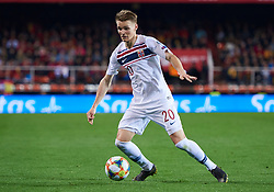 March 23, 2019 - Valencia, U.S. - VALENCIA, SPAIN - MARCH 23: Martin Odegaard, midfielder of Norway with the ball during the 2020 UEFA European Championships group F qualifying match between Spain and Norway at Mestalla stadium on March 23, 2019 in Valencia, Spain. (Photo by Carlos Sanchez Martinez/Icon Sportswire) (Credit Image: © Carlos Sanchez Martinez/Icon SMI via ZUMA Press)