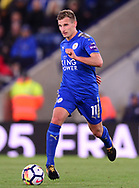 Marc Albrighton of Leicester city in action .Premier league match, Leicester City v West Bromwich Albion at the King Power Stadium in Leicester, Leicestershire on Monday 16th October 2017.<br /> pic by Bradley Collyer, Andrew Orchard sports photography.
