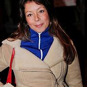 NLD/Amsterdam/20110216 - Boekpresentatie Twaalf goeroes, dertien ongelukken van schrijver Johan Noorloos, zwangere nadja Hupscher