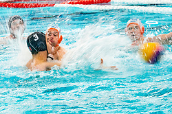 Netherlands in action against France during the Olympic qualifying tournament. The Dutch water polo players are on the hunt for a starting ticket for the Olympic Games on February 17, 2021 in Rotterdam