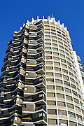 Israel, Tel Aviv, the residential tower over Dizengoff centre