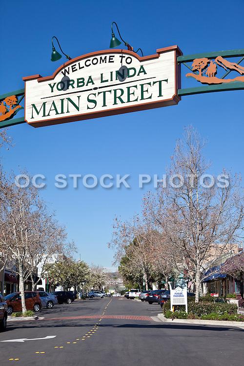 Main Street In Yorba Linda
