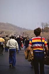 Tourists Near Great Wall