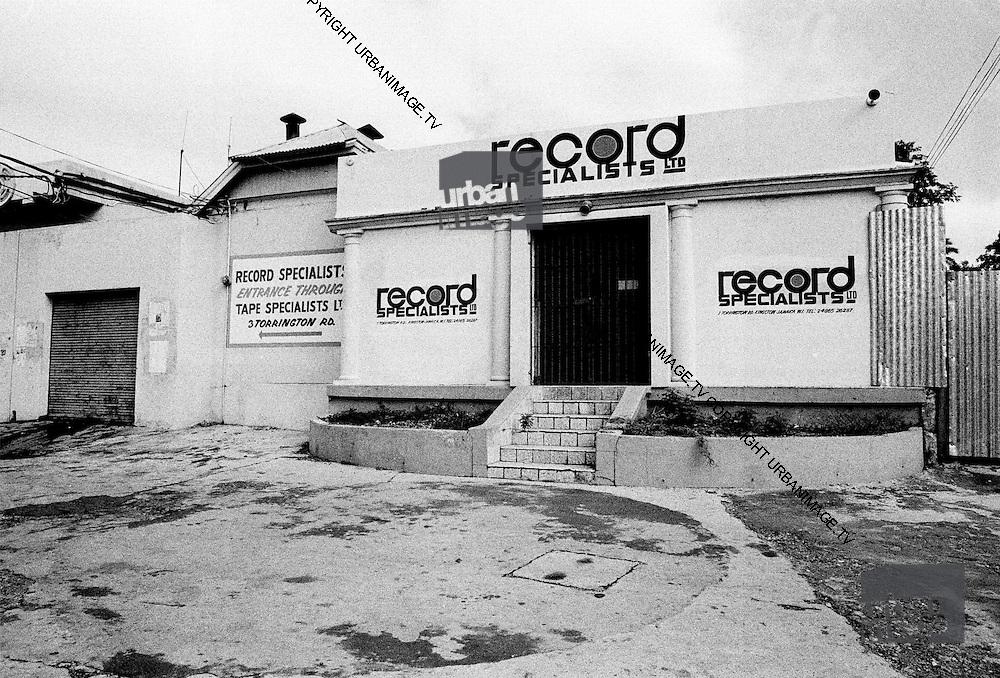 Downtown Kingston record store