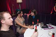 TIM DEWBERRY; OONA CHAPLIN;  MIKE DOXFORD; , Proud Cabaret launch. Mark Lane. London. EC3. 3 November 2009