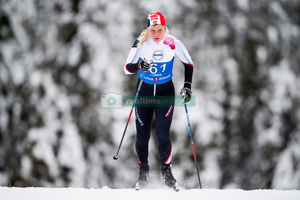 January 11, 2018 - GSbu, NORWAY - 180111 Lisa Kvamme competes in the women's sprint classic technique qualification during the Norwegian Championship on January 11, 2018 in GÅ'sbu..Photo: Jon Olav Nesvold / BILDBYRN / kod JE / 160126 (Credit Image: © Jon Olav Nesvold/Bildbyran via ZUMA Wire)
