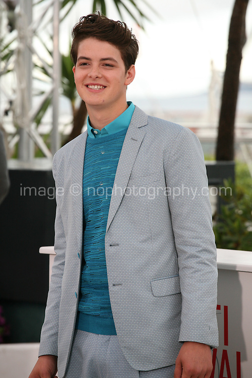 Israel Broussard, .actor, at the Bling Ring film photocall at the Cannes Film Festival 16th May 2013. The Bling Ring is directed by Sofia Coppola and in Un Certain Regard category of the festival.