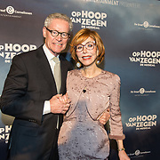 NLD/Zaandam/20190128- première musical Op Hoop van Zegen, en partner Harry