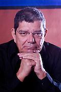 Belo Horizonte_MG, Brasil...Programa Tim Escritores em Belo Horizonte, na foto retrato da escritor  Alcione Araujo...The Tim Escritores program in Belo Horizonte, in this photo the writer Alcione Araujo...Foto: BRUNO MAGALHAES /  NITRO