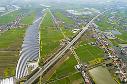 March 24, 2019 - Nantong, Nantong, China - Nantong,CHINA-Aerial photography of rapeseed flower fields in Nantong, east China's Jiangsu Province. (Credit Image: © SIPA Asia via ZUMA Wire)