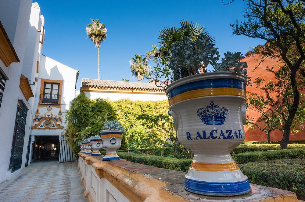 Alcazar palace in Sevilla (Spain)