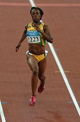 Veronica Campbell JAM in action during Olympics Games Athletics day 12 on August 24, 2004 in Olympic Stadion Spyridon Louis, Athens.