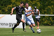 Hawkes Bay United's Fregus Neil in action in the Handa Premiership football match, Hawke's Bay United v Hamilton Wanderers, Bluewater Stadium, Napier, Sunday, November 15, 2020. Copyright photo: Kerry Marshall / www.photosport.nz
