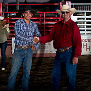 Tjay Allen covered the bounty bull for $3000 at the Darby MT Elite Proffesionals Bull Riding Event July 7th 2017.  Photo by Josh Homer/Burning Ember Photography.  Photo credit must be given on all uses.