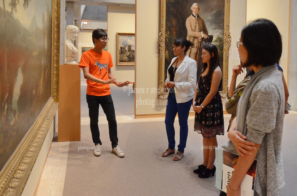 Student Guide Tour. Yale Center for British Art Undergraduate Open House '12
