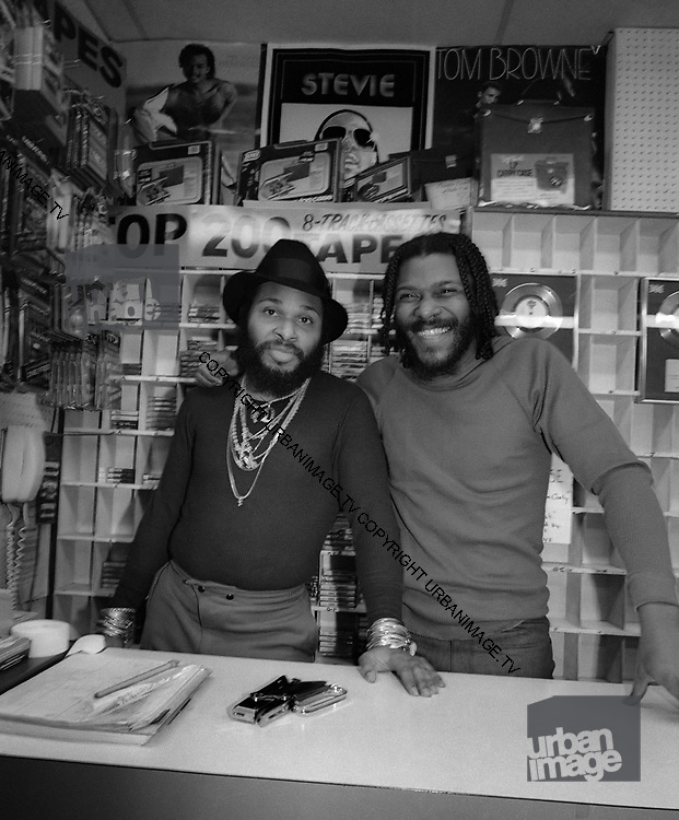 Arthur Baker and Rockers Revenge in New York Record Shop