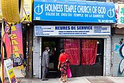 Holiness Temple Church of God, Eglise de Dieu du Temple de la Saintete, 1822 Flatbush Avenue, Brooklyn.
