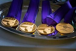 Medals<br /> World Equestrian Games - Tryon 2018<br /> © Hippo Foto - Dirk Caremans<br /> 13/09/2018