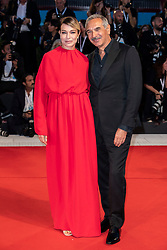 Carlo Capasa, Stefania Rocca walks the red carpet ahead of The Sisters Brothers screening during the 75th Venice Film Festival at Sala Grande on September 2, 2018 in Venice, Italy. Photo by Marco Piovanotto/ABACAPRESS.COM