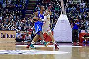 DESCRIZIONE : Milano Eurolega Euroleague 2013-14 EA7 Emporio Armani Milano Real Madrid <br /> GIOCATORE : Slaughter Marcus<br /> CATEGORIA : Palleggio<br /> SQUADRA :  Real Madrid<br /> EVENTO : Eurolega Euroleague 2013-2014 GARA : EA7 Emporio Armani Milano Real Madrid <br /> DATA : 05/12/2013 <br /> SPORT : Pallacanestro <br /> AUTORE : Agenzia Ciamillo-Castoria/I.Mancini<br /> Galleria : Eurolega Euroleague 2013-2014 <br /> Fotonotizia : Milano Eurolega Euroleague 2013-14 EA7 Emporio Armani Milano Real Madrid Predefinita