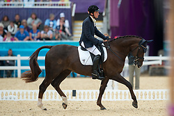Puch Pepo (AUT) - Fine Feeling<br /> Individual Championship Test  - Grade Ib <br /> London 2012 Paralympic Games<br /> © Hippo Foto - Jon Stroud