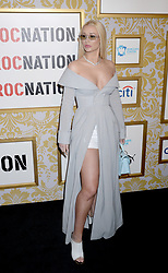 Rapper Iggy Azalea attending Roc Nation's The Brunch at One World Trade Center in New York City, NY, USA, on January 27, 2018. Photo by Dennis van Tine/ABACAPRESS.COM