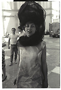 Isabella Blow, Paris couture shows. 1991