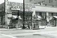 1973 Columbia Drug Store on the SE corner of Sunset Blvd. & Gower St.