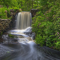 Spring colors and waterfall photography at the Major Willard Moore State Park in Paxton, Massachusetts.<br /> <br /> Major Willard Moore State Park waterfall photography images are available as museum quality photography prints, canvas prints, acrylic prints, wood prints or metal prints. Fine art prints may be framed and matted to the individual liking and decorating needs:<br /> <br /> https://juergen-roth.pixels.com/featured/waterfall-at-major-willard-moore-state-park-juergen-roth.html<br /> <br /> Good light and happy photo making!<br /> <br /> My best,<br /> <br /> Juergen