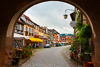 The medieval town of Gengenbach, Baden-Württemberg, Germany