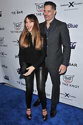 (L-R) Sofia Vergara and Joe Manganiello arrives at Jessie Tyler Ferguson's 'Tie The Knot' 5 Year Anniversary celebration held at NeueHouse Hollywood in Los Angeles, CA on Thursday, October 12, 2017. (Photo By Sthanlee B. Mirador/Sipa USA)