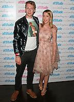 Joe Lycett & Katherine Ryan, Attitude Magazine's Hot 100 Summer Party, The Rumpus Room at the Mondrian Hotel, London UK, 20 July 2015, Photo by Brett D. Cove