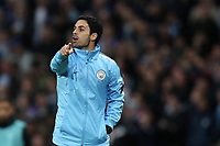 Football - 2018 / 2019 UEFA Champions League - Group F: Manchester City vs. Olympique Lyonnais<br /> <br /> Manchester City assistant manager Mikel Arteta, at the Etihad Stadium.<br /> <br /> COLORSPORT/PAUL GREENWOOD
