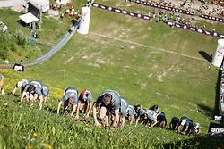 25.05.2014, Skiflugschanze Kulm, Kulm, AUT, Red Bull 400, Qualifikationsläufe Full Distance Männer, im Bild Teilnehmer // during the Red Bull 400 at the Skiflying Hill, Kulm, Austria on 2014/05/25, EXPA Pictures © 2014, PhotoCredit: EXPA/ M.Kuhnke