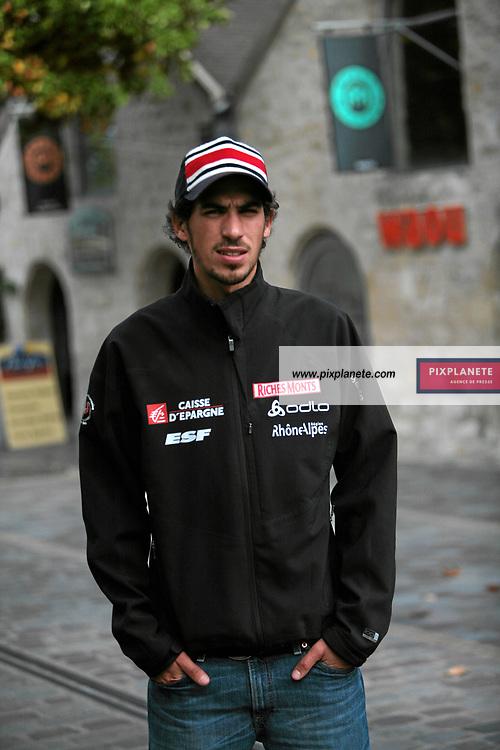 Emmanuel Chedal - Saut - présentation de l'équipe de France de ski 2007-2008 - Photos exclusives - 9/10/2007 - JSB / PixPlanete