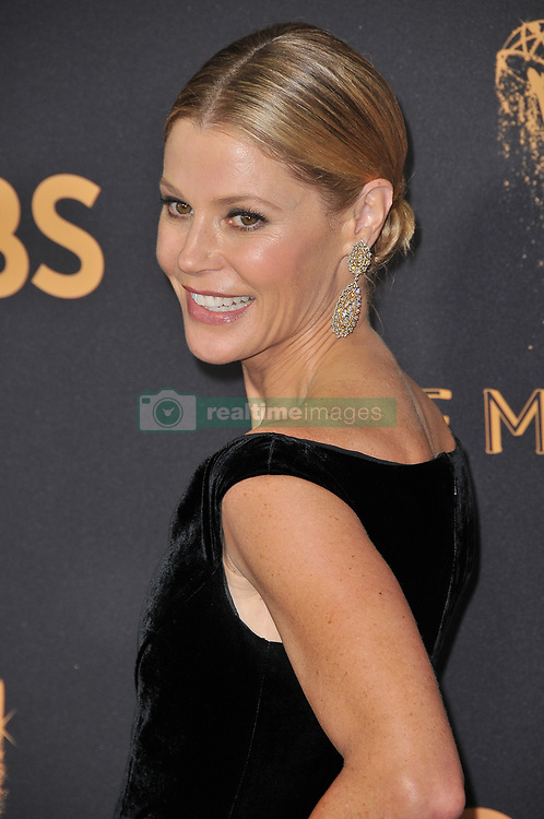 Julie Bowen at the 69th Annual Emmy Awards held at the Microsoft Theater on September 17, 2017 in Los Angeles, CA, USA (Photo by Sthanlee B. Mirador/Sipa USA)