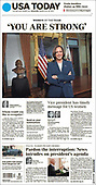 March 26, 2021 (USA): Front-page: Today's Newspapers In United States