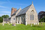 Village parish church of All Saints, Drinkstone, Suffolk, England, UK