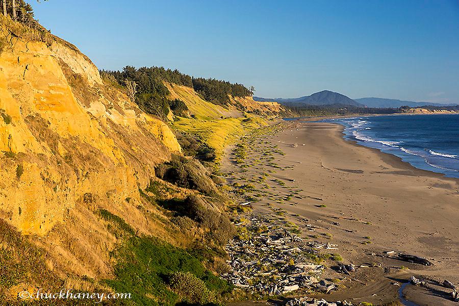 Beach at Cape Blanco State Park, Oregon, USA