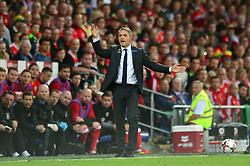 Austria manager, Marcel Koller - Mandatory by-line: Dougie Allward/JMP - 02/09/2017 - FOOTBALL - Cardiff City Stadium - Cardiff, Wales - Wales v Austria - FIFA World Cup Qualifier 2018
