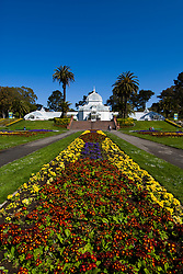 California: San Francisco. Conservatory of Flowers in Golden Gate Park.  Photo copyright Lee Foster. Photo #: 23-casanf78758