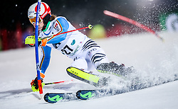 26.01.2016, Planai, Schladming, AUT, FIS Weltcup Ski Alpin, Schladming, Slalom, Herren, 1. Durchgang, im Bild Linus Strasser (GER) // Linus Strasser of Germany competes during his 1st run of men's Slalom Race of Schladming FIS Ski Alpine World Cup at the Planai in Schladming, Austria on 2016/01/26. EXPA Pictures © 2016, PhotoCredit: EXPA/ Johann Groder