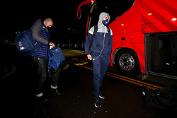 Bristol Flyers arrive at Worcester Wolves - Photo mandatory by-line: Robbie Stephenson/JMP - 02/12/2020 - BASKETBALL - University of Worcester Arena - Worcester, England - Worcester Wolves v Bristol Flyers - British Basketball League Cup