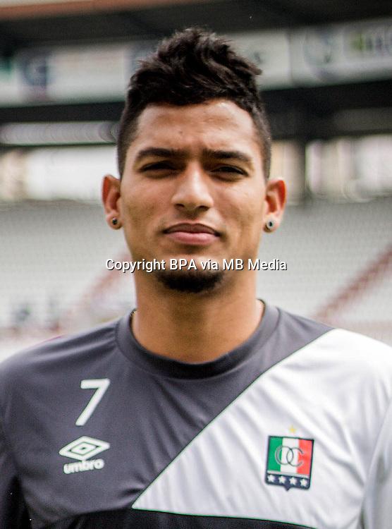 Colombia League - Liga Aguila 2015-2016 - <br /> Once Caldas - Colombia / <br /> Cesar Alexander Quintero Jimenez