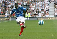 Photo: Steve Bond. <br />Derby County v Portsmouth. Barclays Premiership. 11/08/2007. Lauren