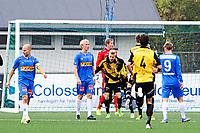 Fotball , 1. Divisjon ,  5. Oktober 2014 ,<br /> Bærum SK - Sandefjord<br /> Bærum jubler for sitt mål til 3-1<br /> Foto: Sjur Stølen